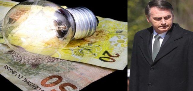 Luz terá redução histórica após Bolsonaro pagar dívida do governo Dilma.